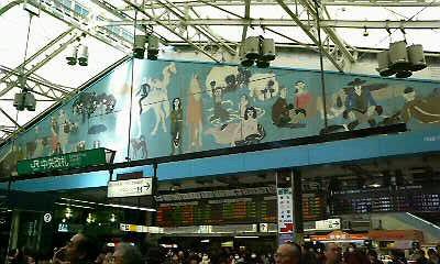あぁ上野駅・・