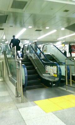 東京駅のなか
