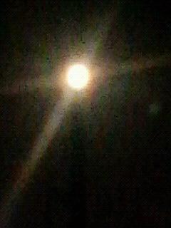 夏の夜の月