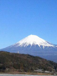今朝の富嶽