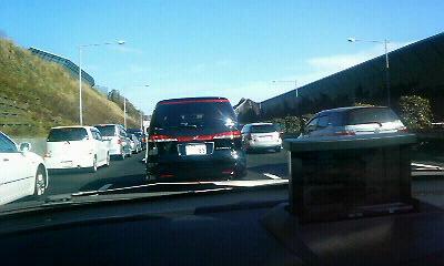 交通渋滞・・