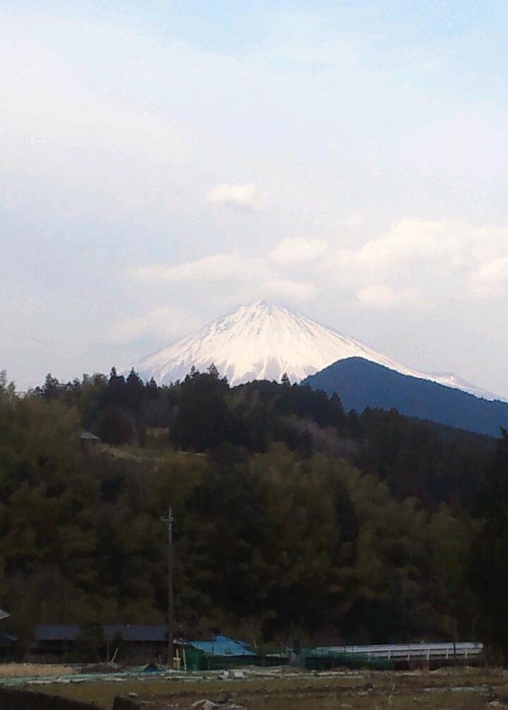 富士の夕景色