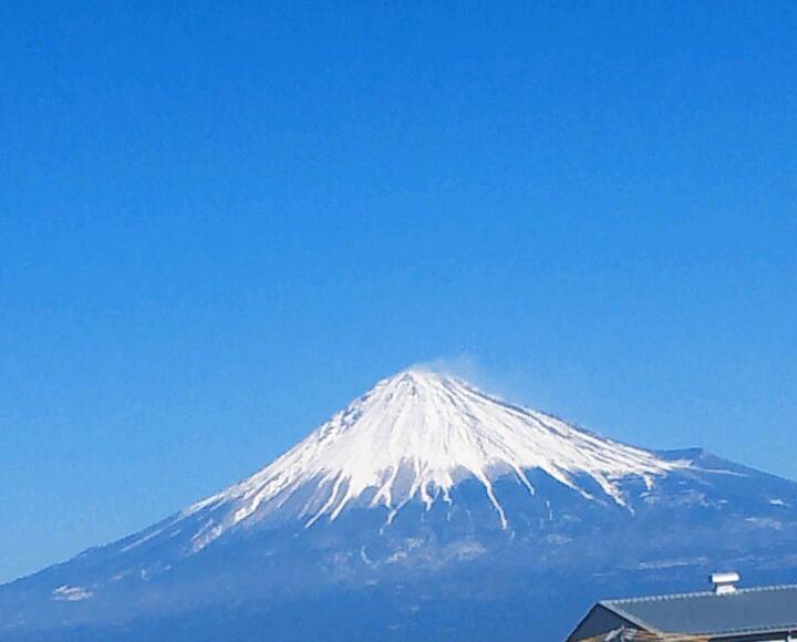 最近の富士山