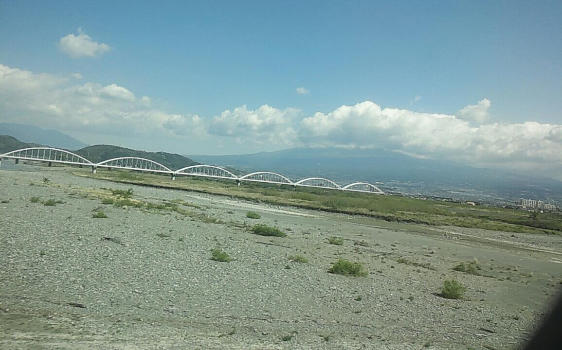 帰りの富士山