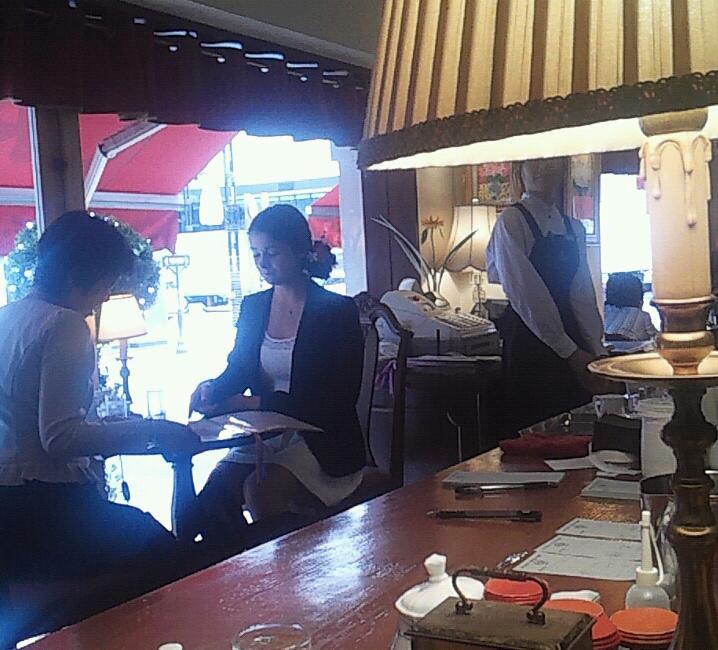 銀座の喫茶店