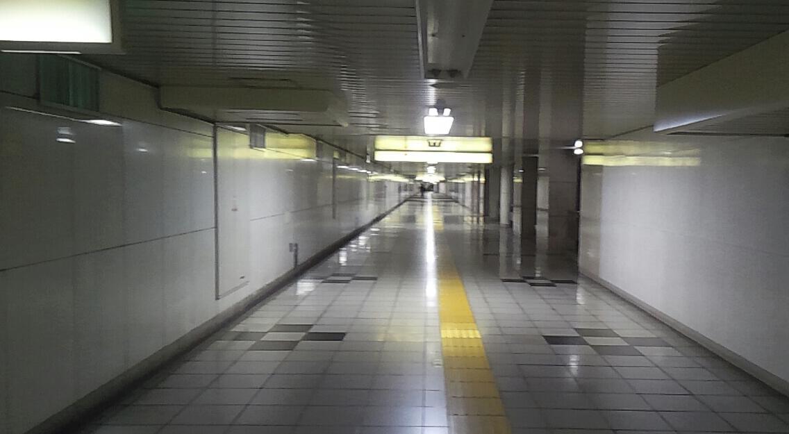 歩き稽古〜地下道編