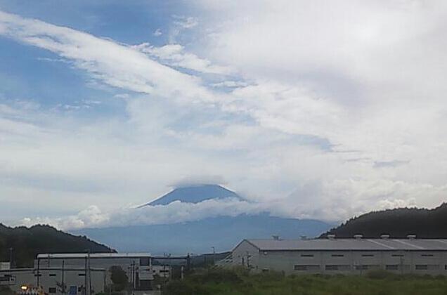 その日の富士山