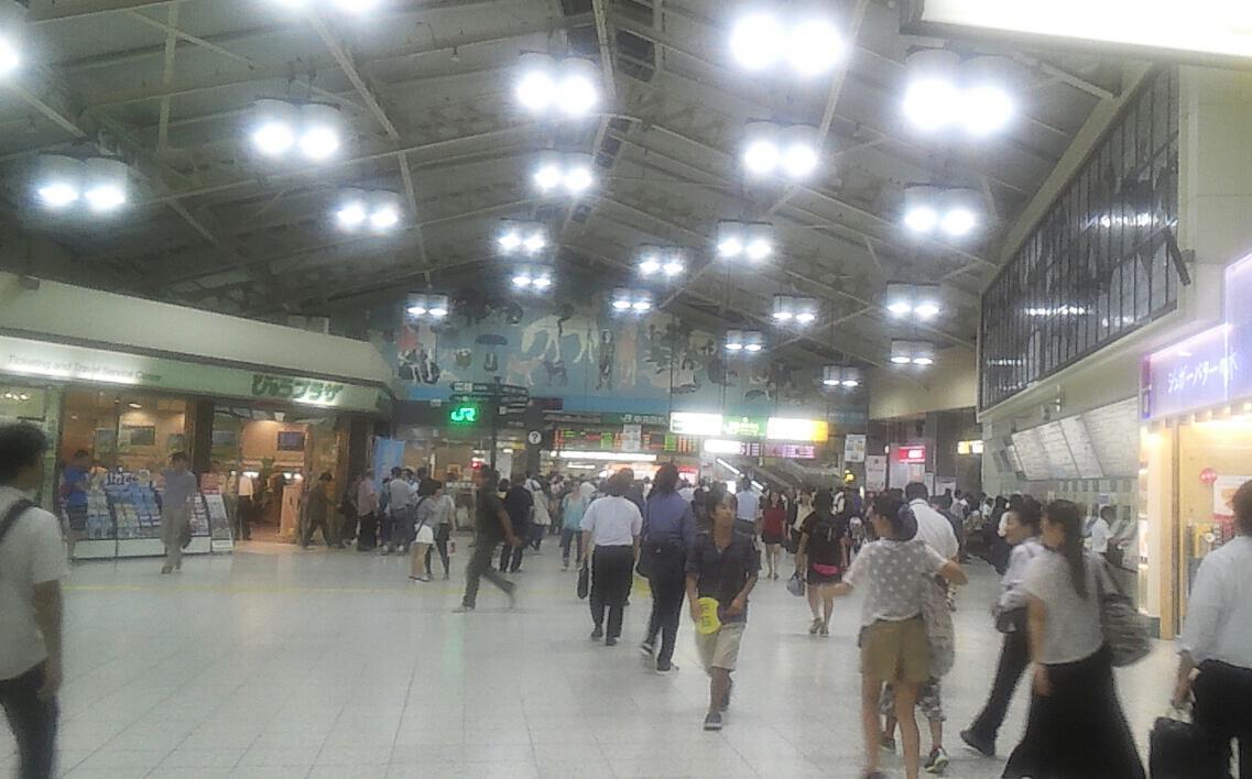 今年の上野駅