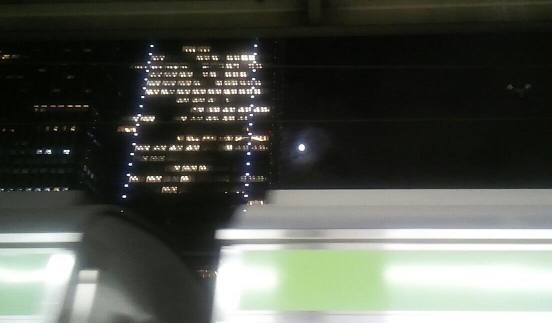 東京駅山手線内回りホーム
