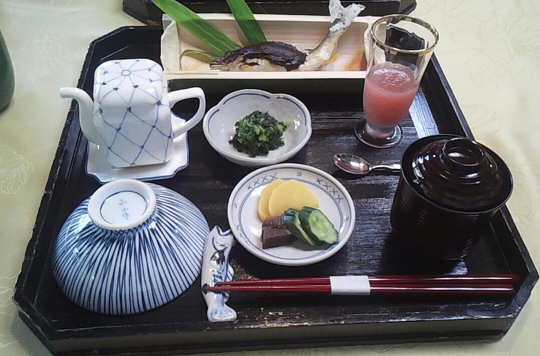 早めの昼食