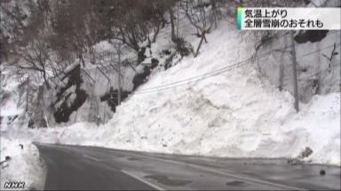 全層雪崩?