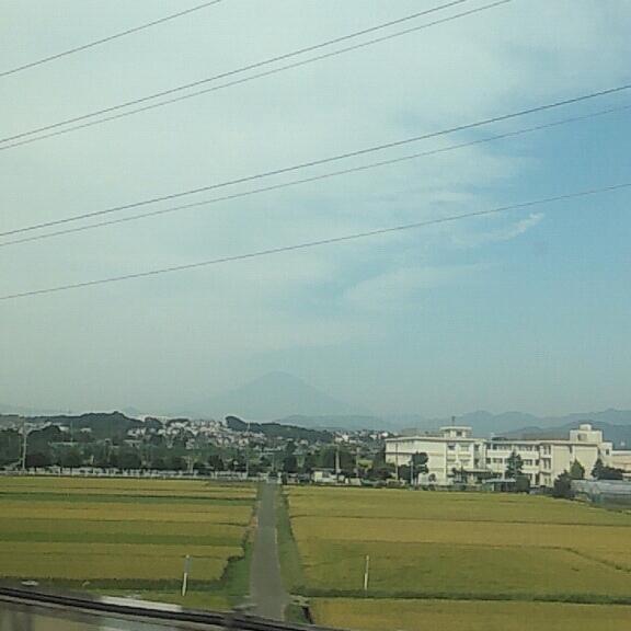 今朝の富士山1
