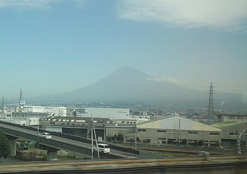 今朝の富士山2