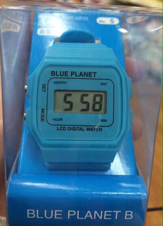 百円ショップの腕時計