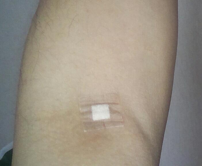 バリウムと採血