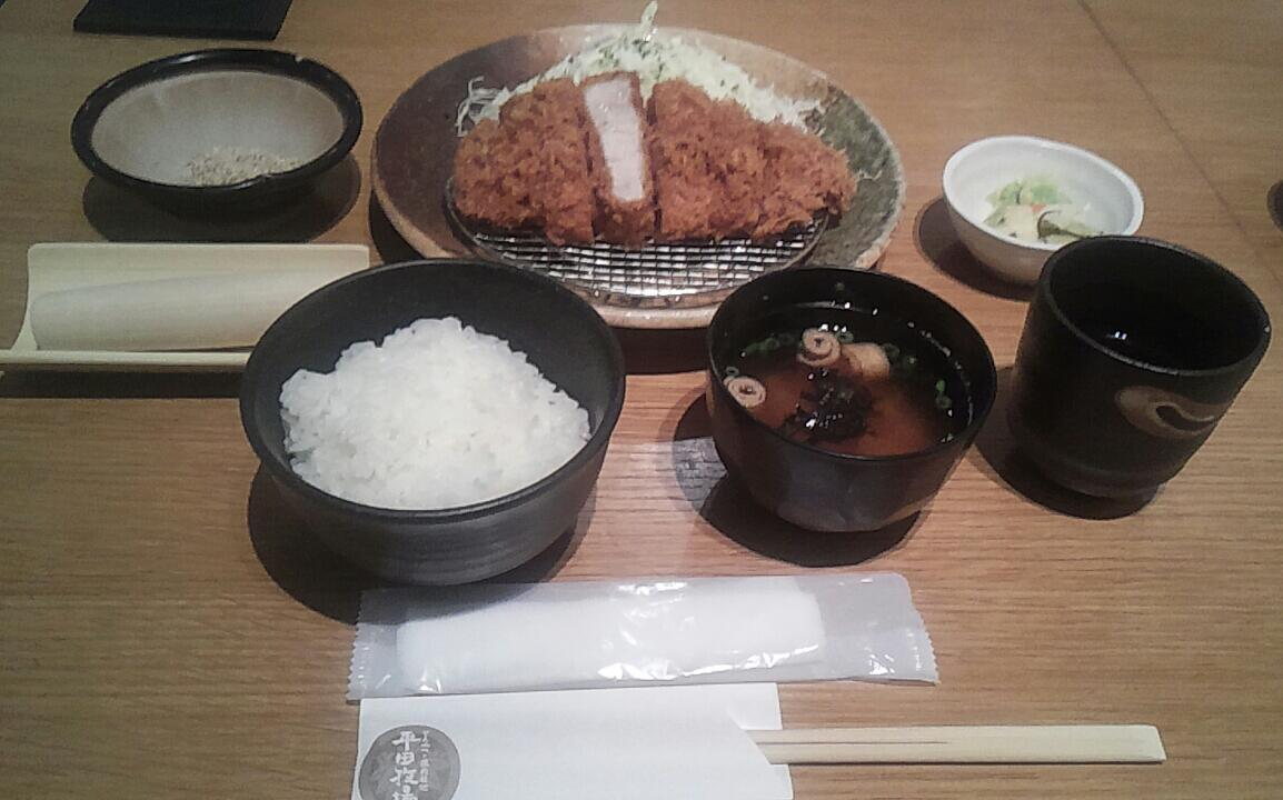 一人のディナー