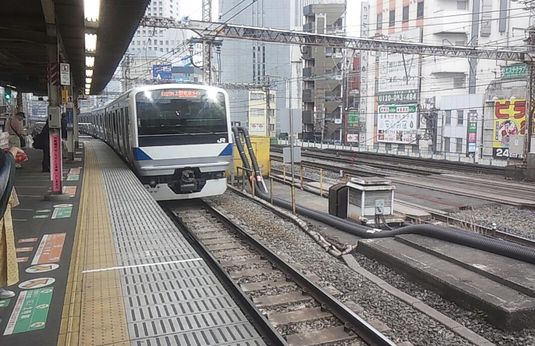 また上野東京ライン