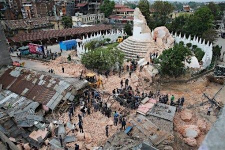 ネパール大地震