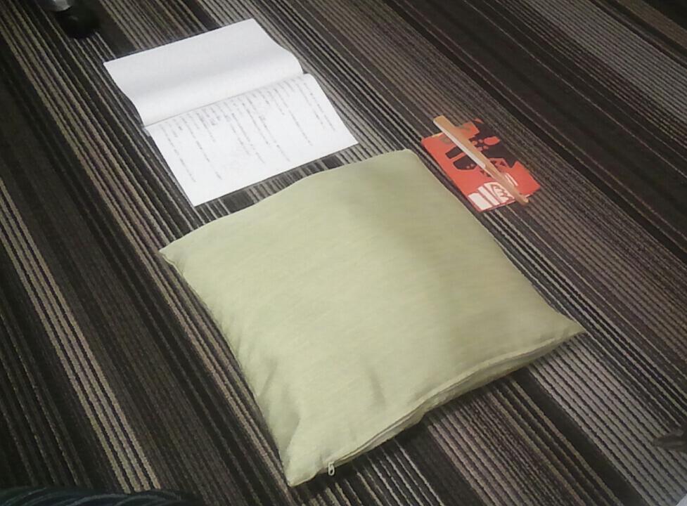 稽古 in <br />  ホテル