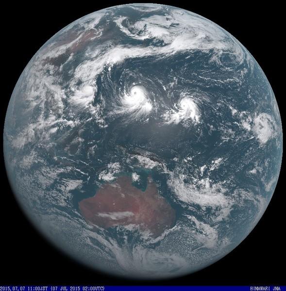 今週の台風