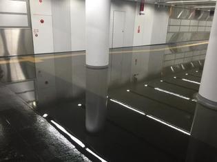 渋谷駅冠水