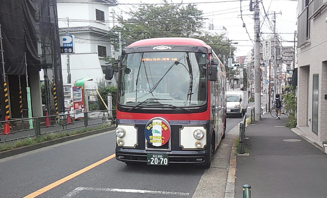 上野方面へ