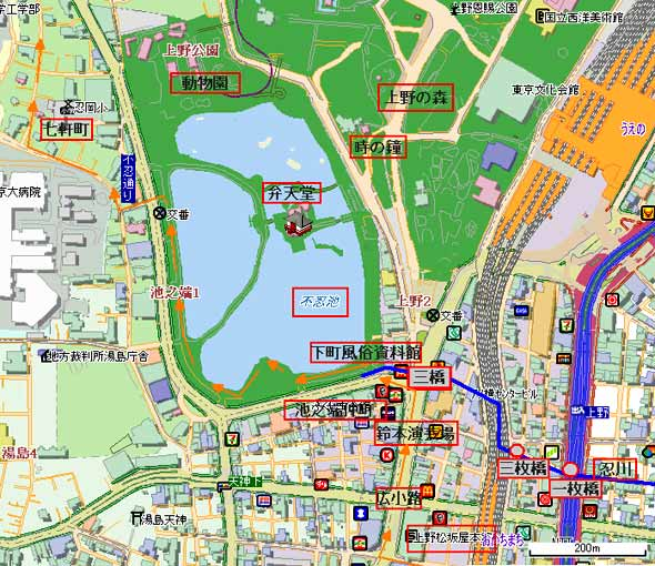 Ikenohata_map