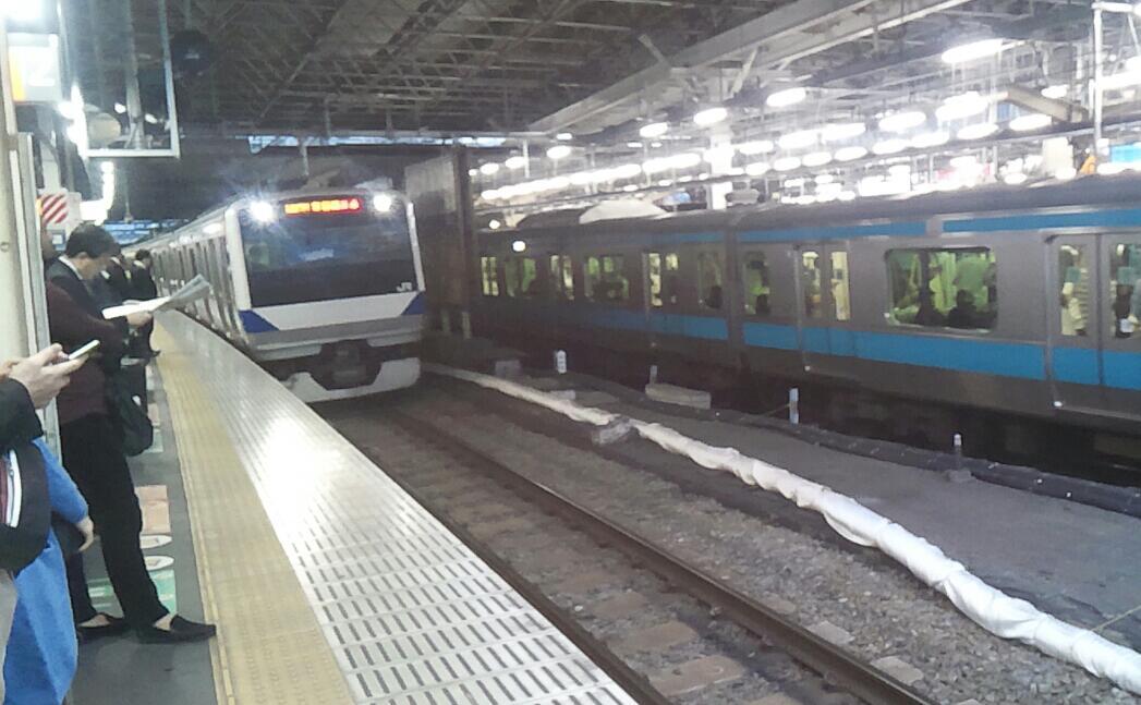 帰りは上野東京ライン