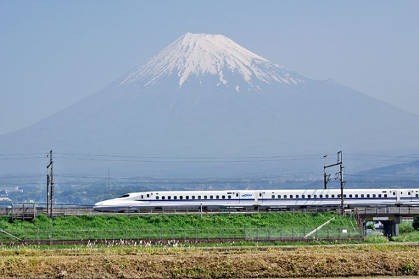 新幹線の車内改札