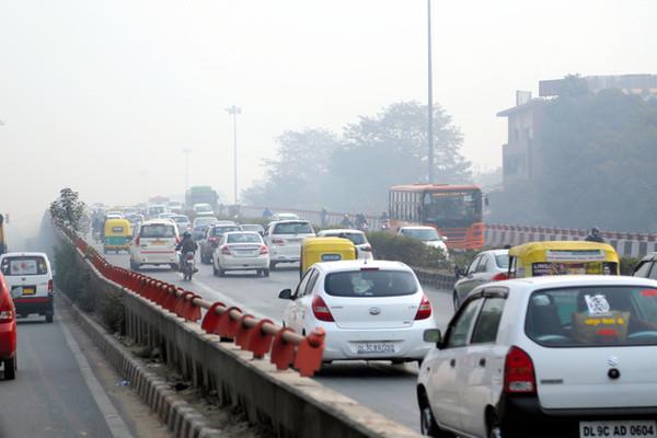 大気汚染注意報?