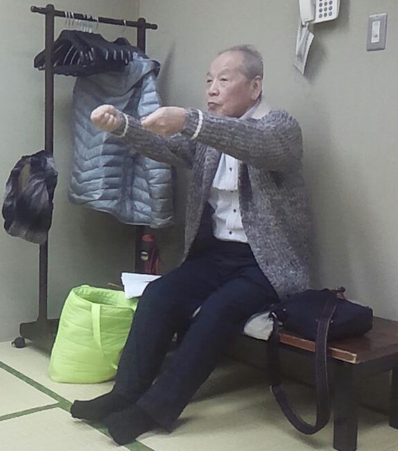 千公さんの「松曵」