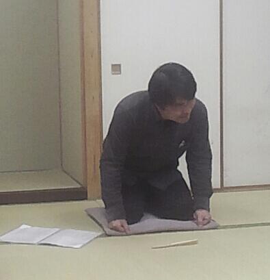 千公さんの「松曳き」
