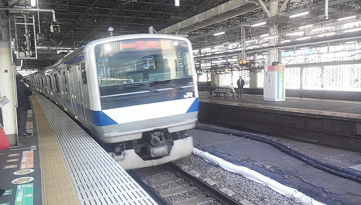 新橋駅2番ホーム