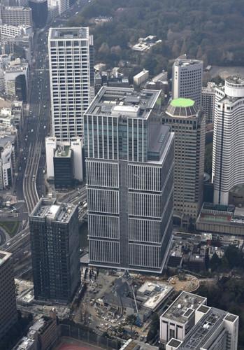 超高層ビル建設ラッシュ
