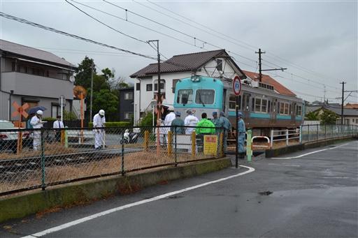 ローカル線の事故