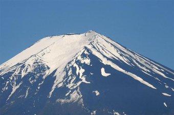 富士山の農鳥