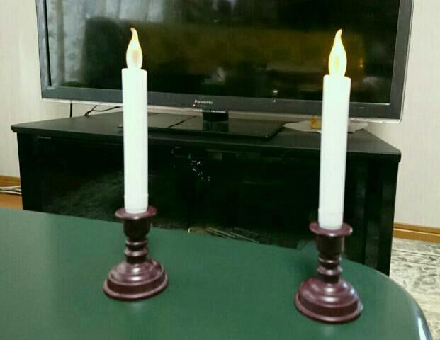 蝋燭・・・