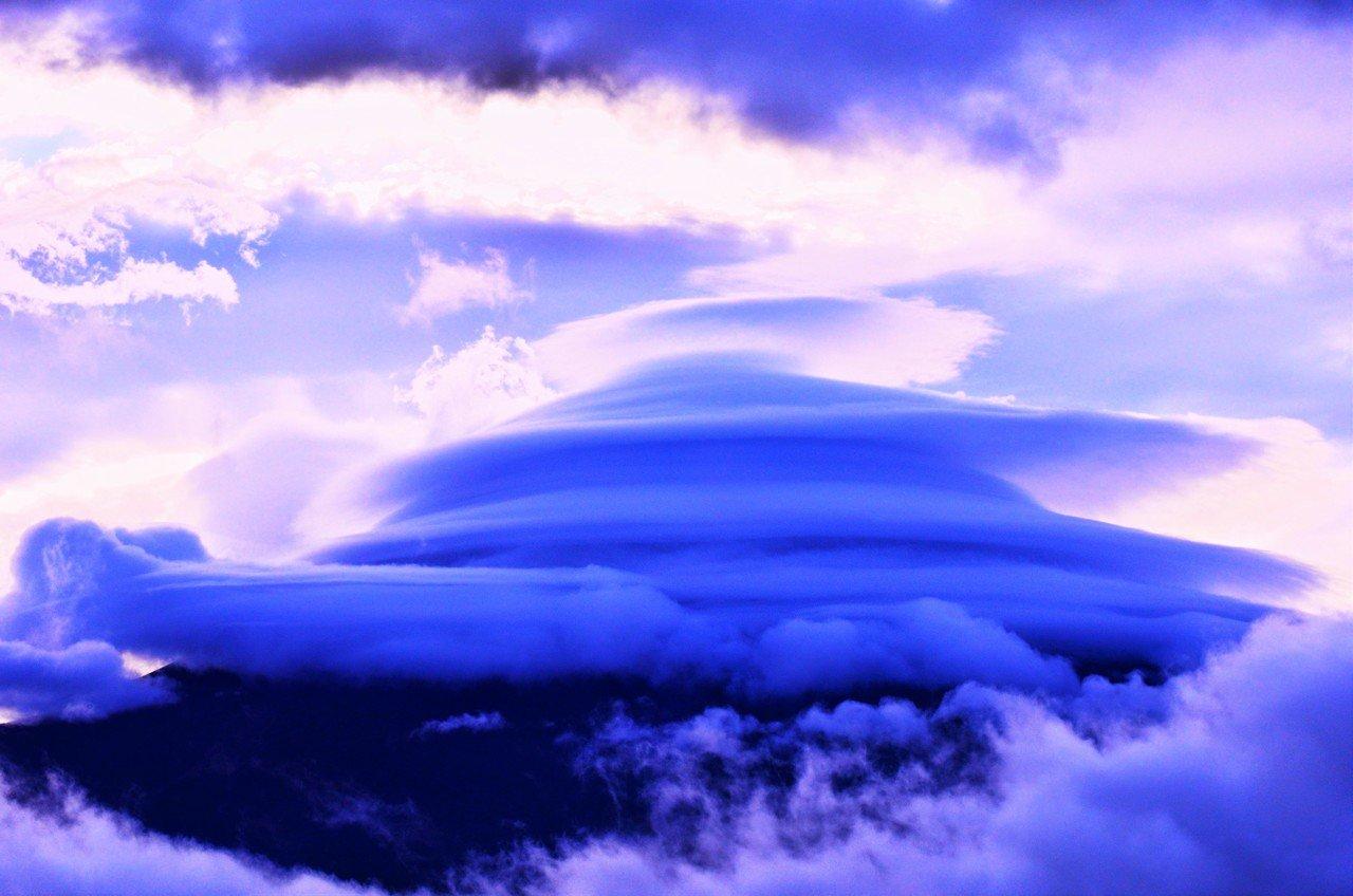 こんな富士山も