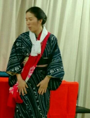 忍緋さんの踊り