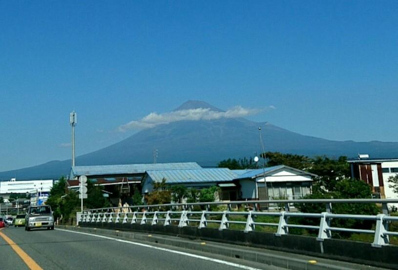 母校からの富士山