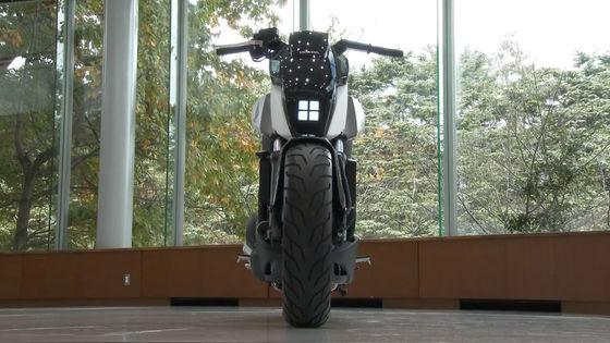 自立バイク?