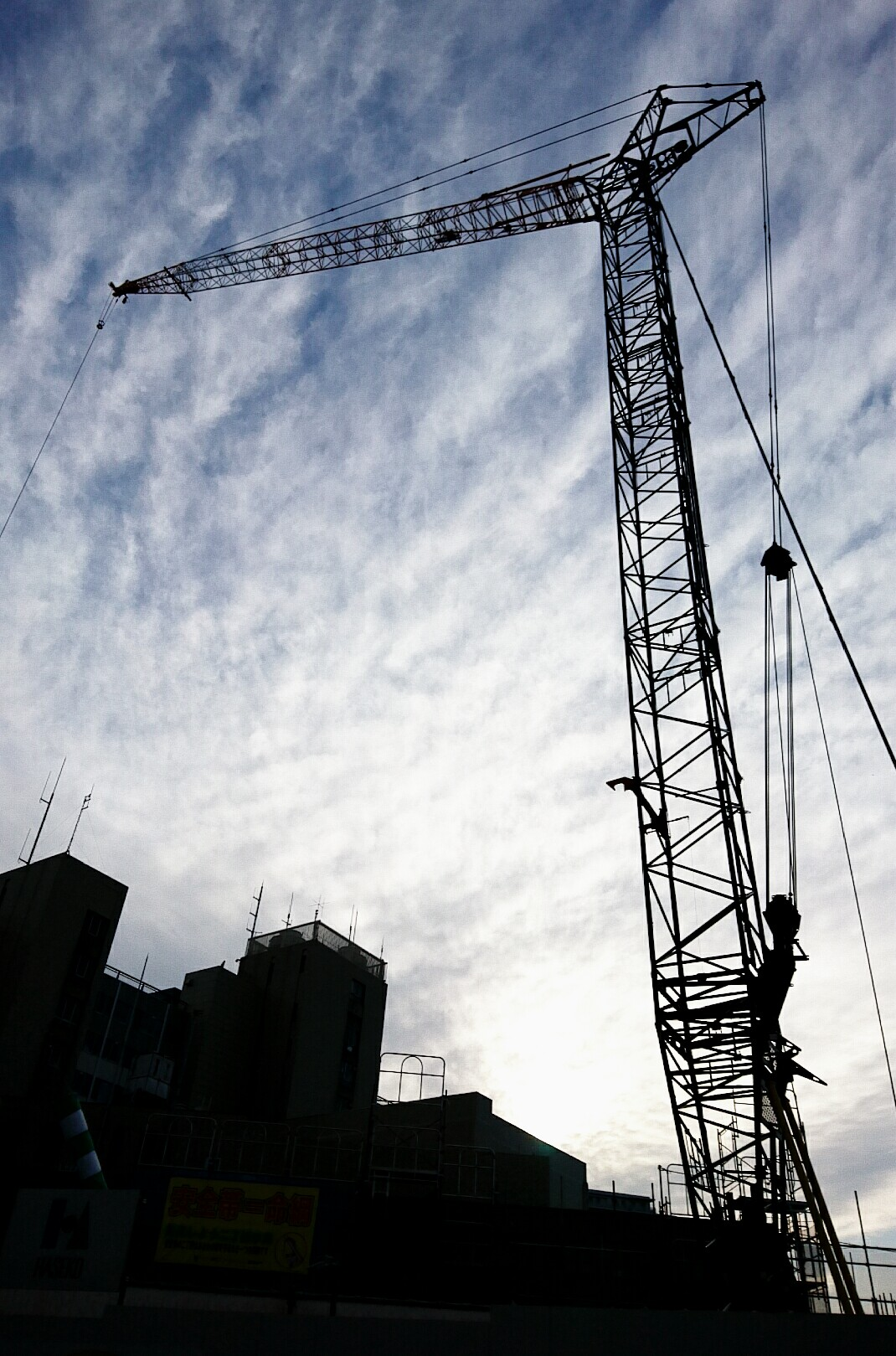 建設の槌音