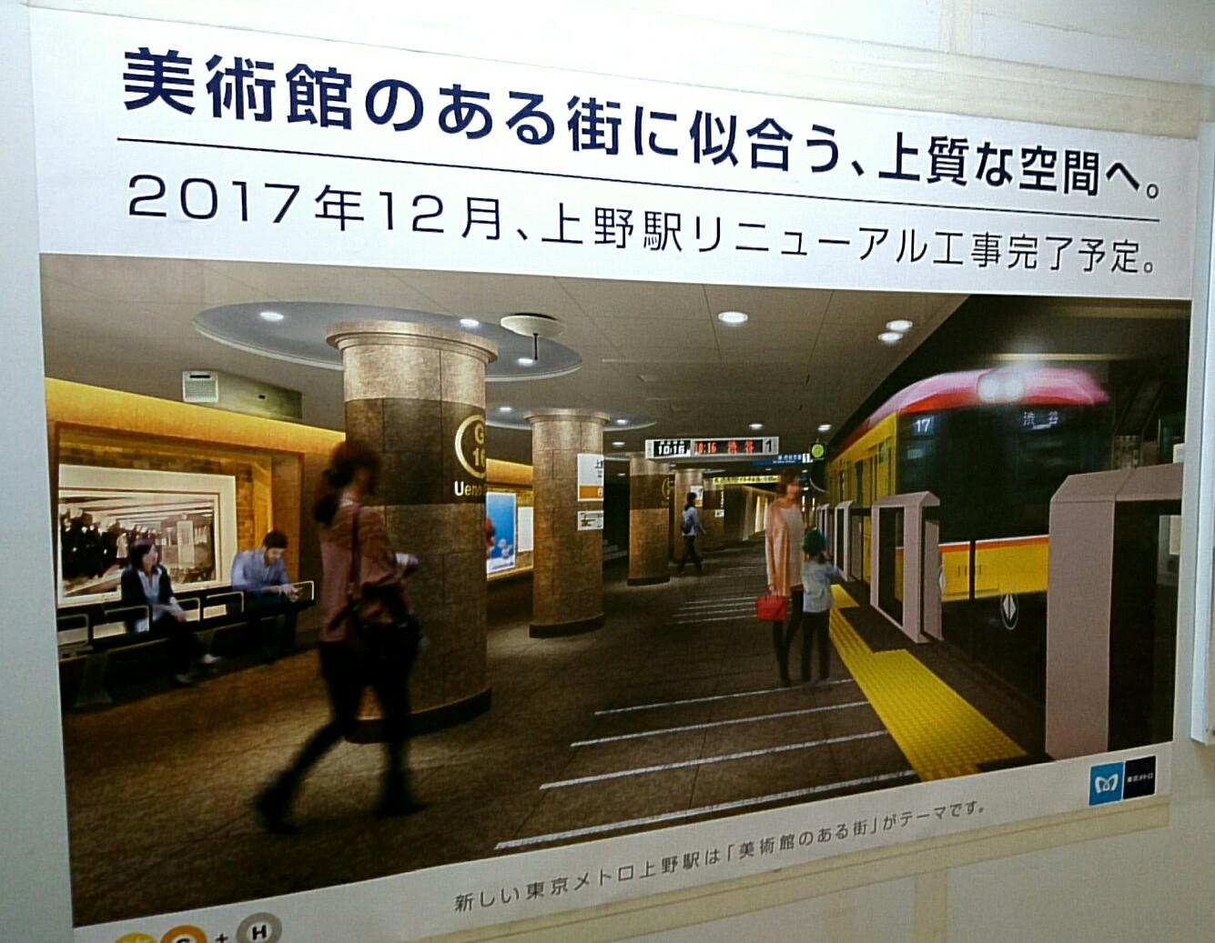 地下鉄上野駅