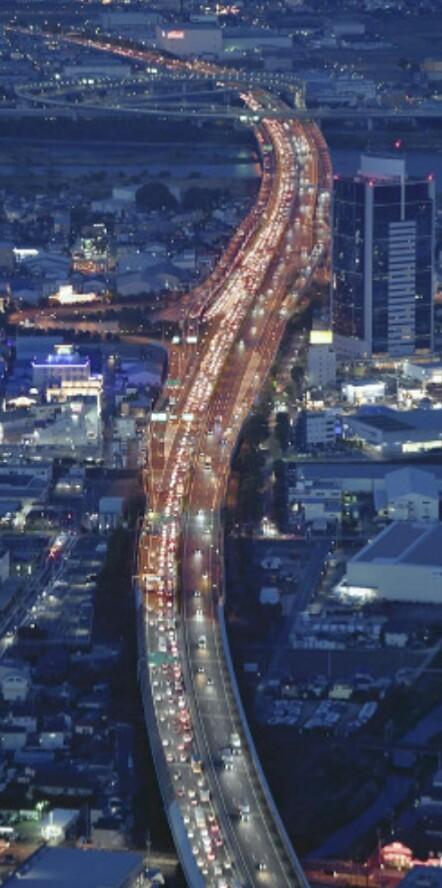 上り線大渋滞