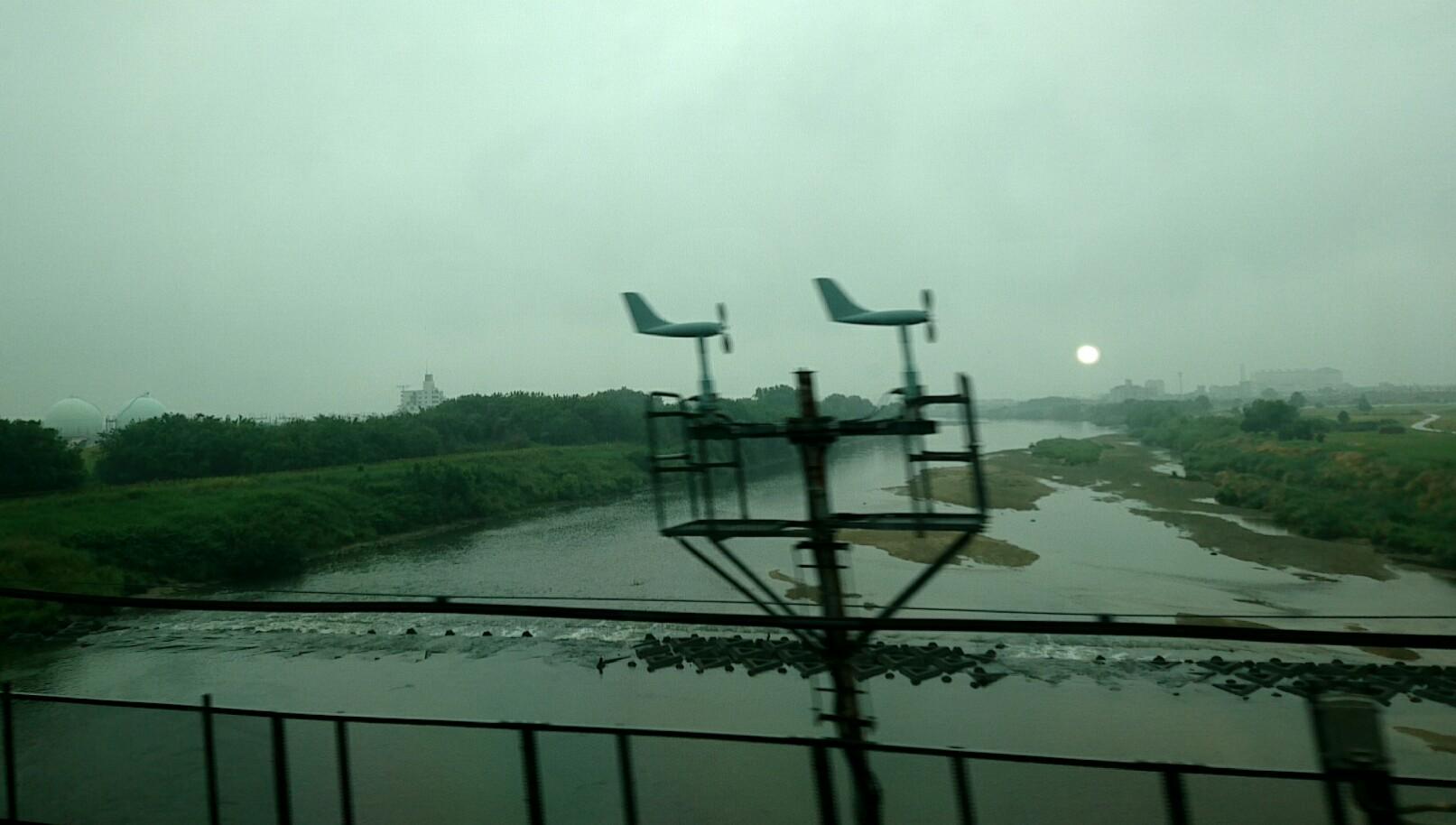 名古屋は雨