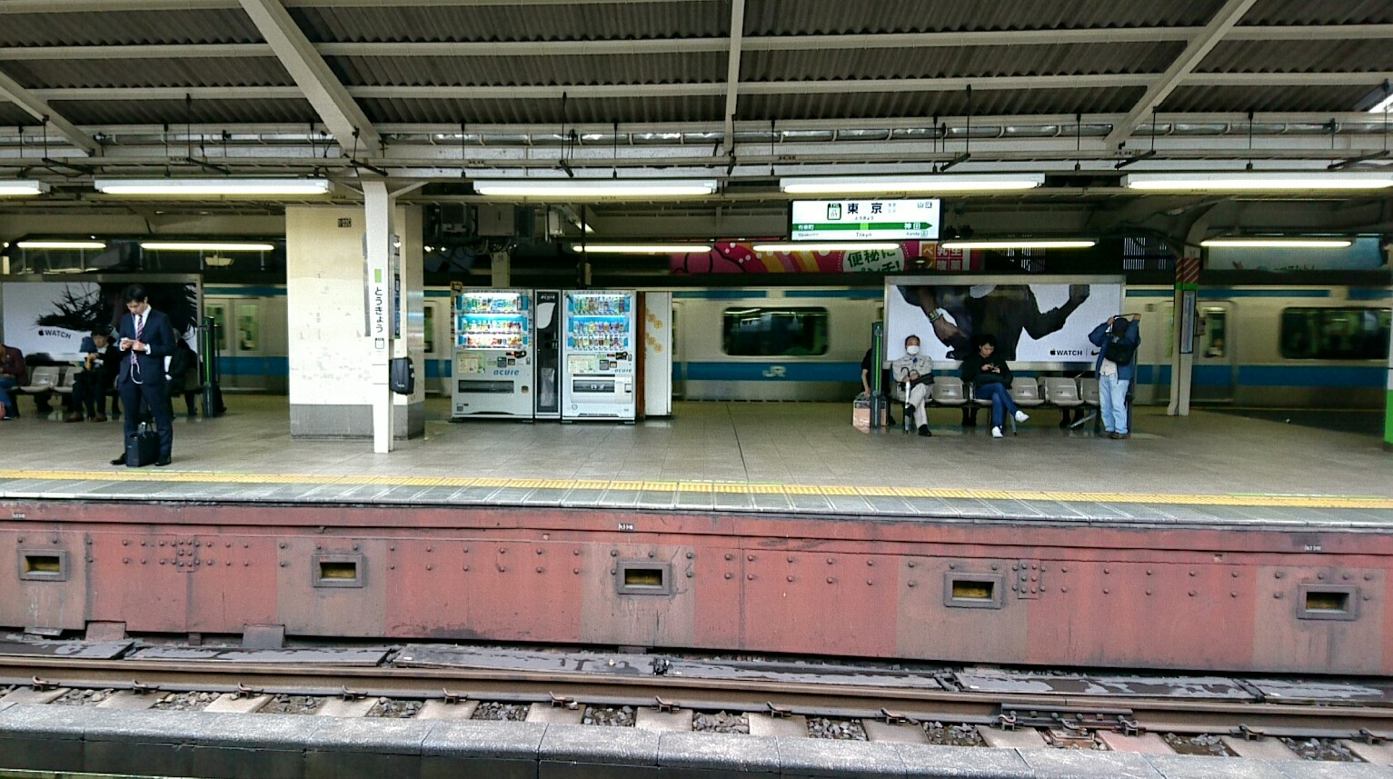 東京は寒い・・