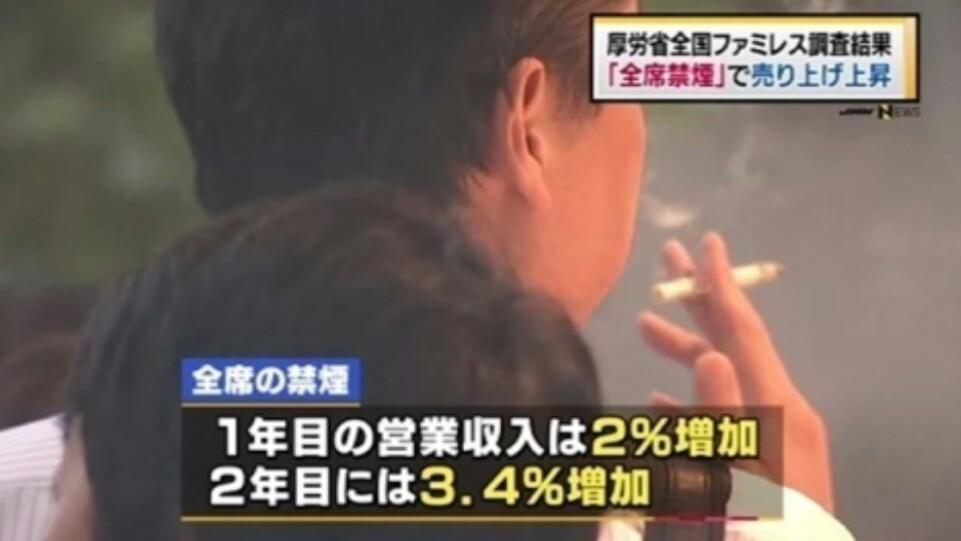 全席禁煙のファミレス