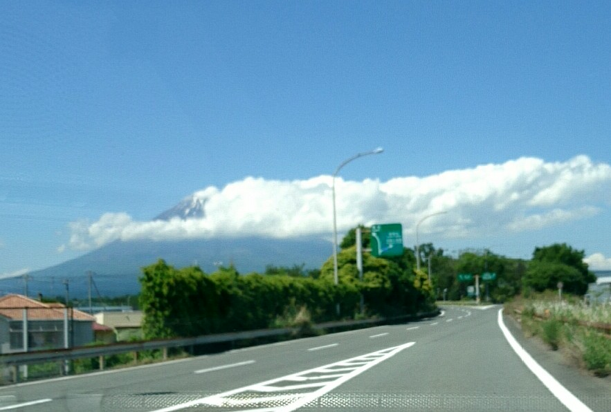 気まぐれ富士山