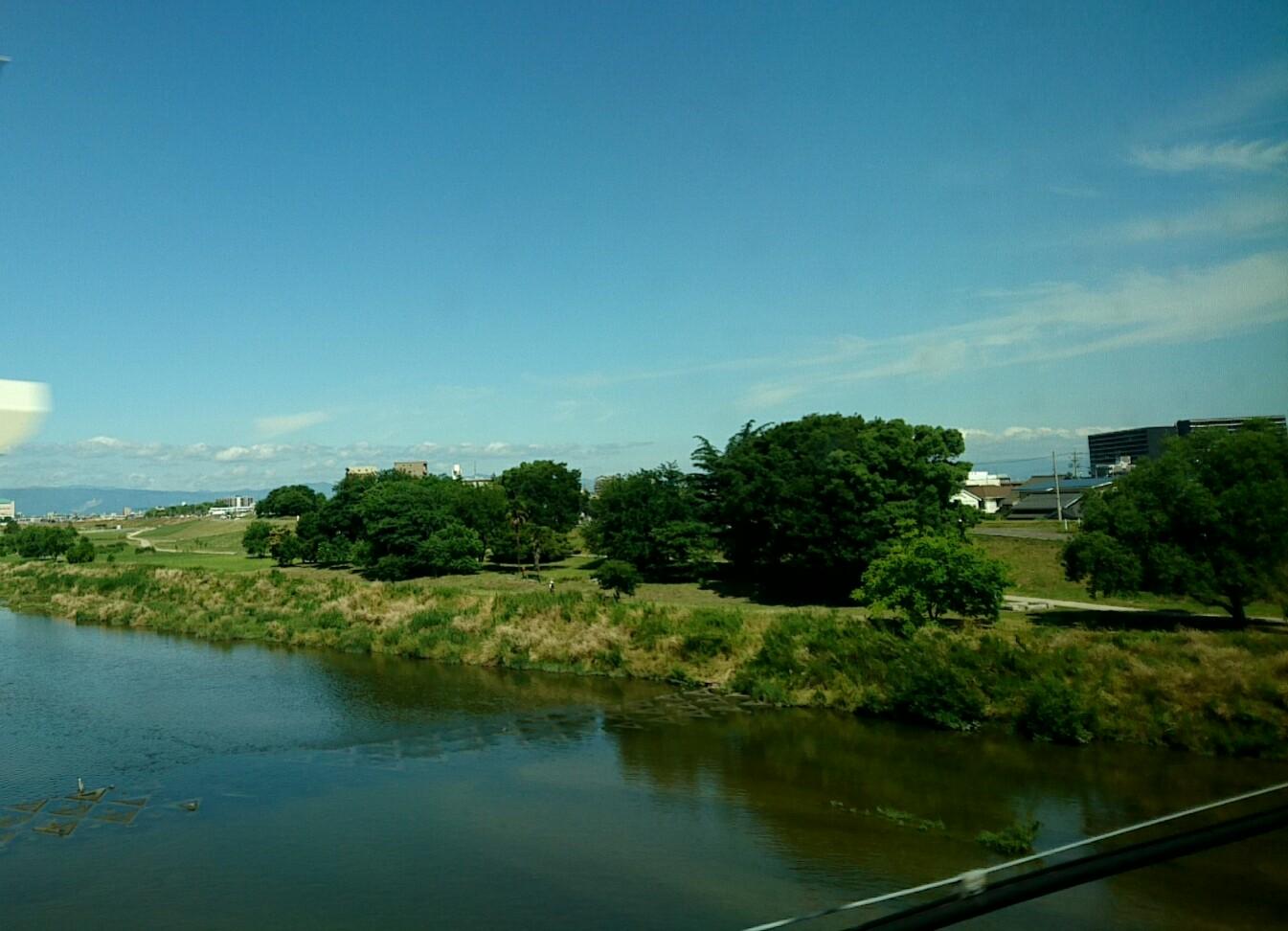 名古屋は晴天