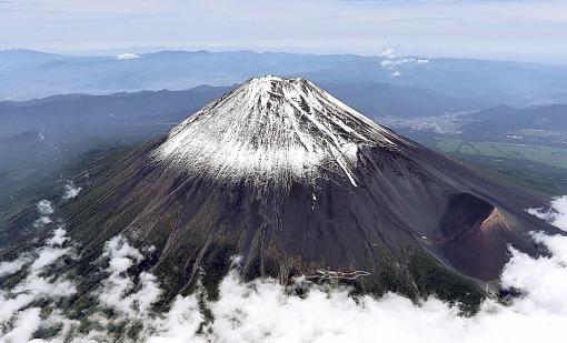 富士山降雪